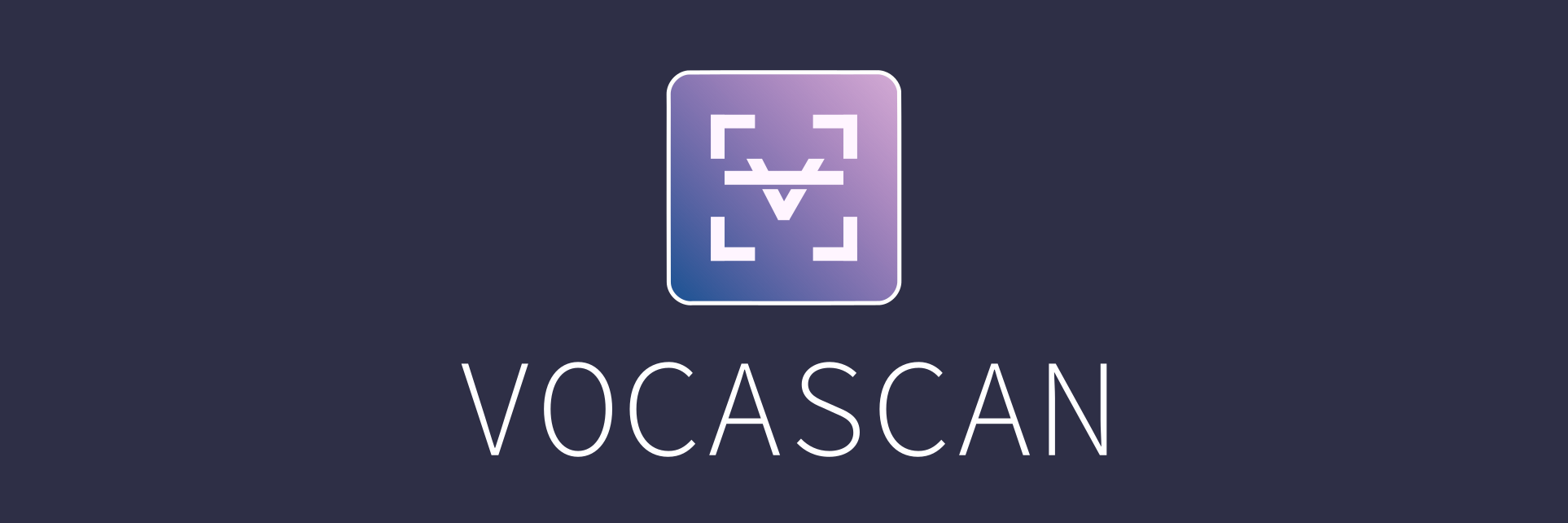 Vocascan banner