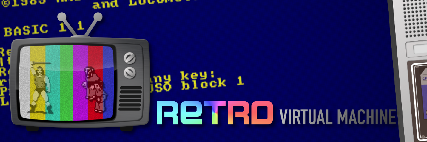 Retro Virtual Machine banner