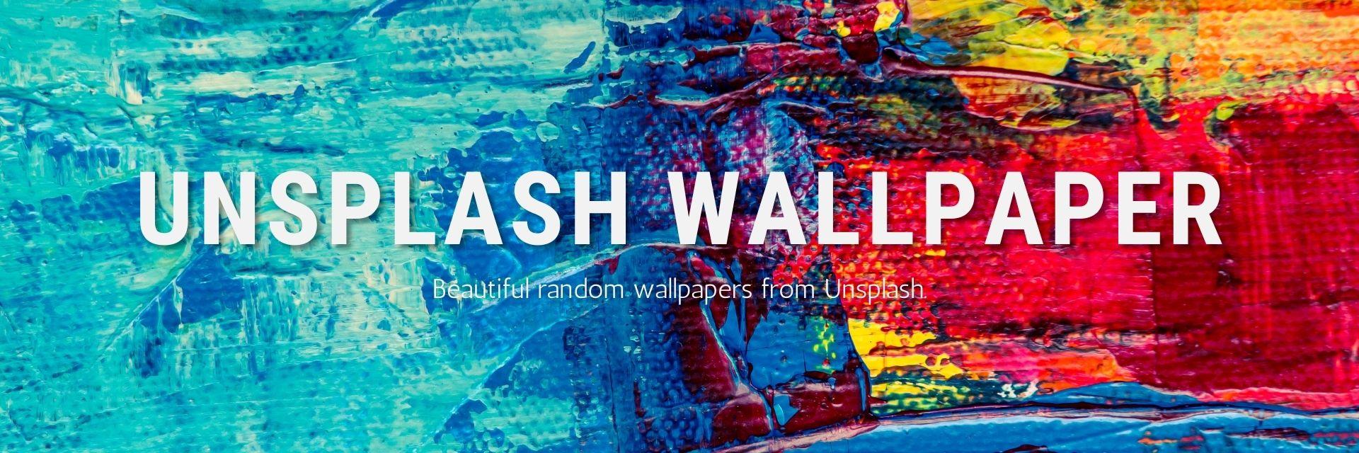 Unsplash Wallpaper banner