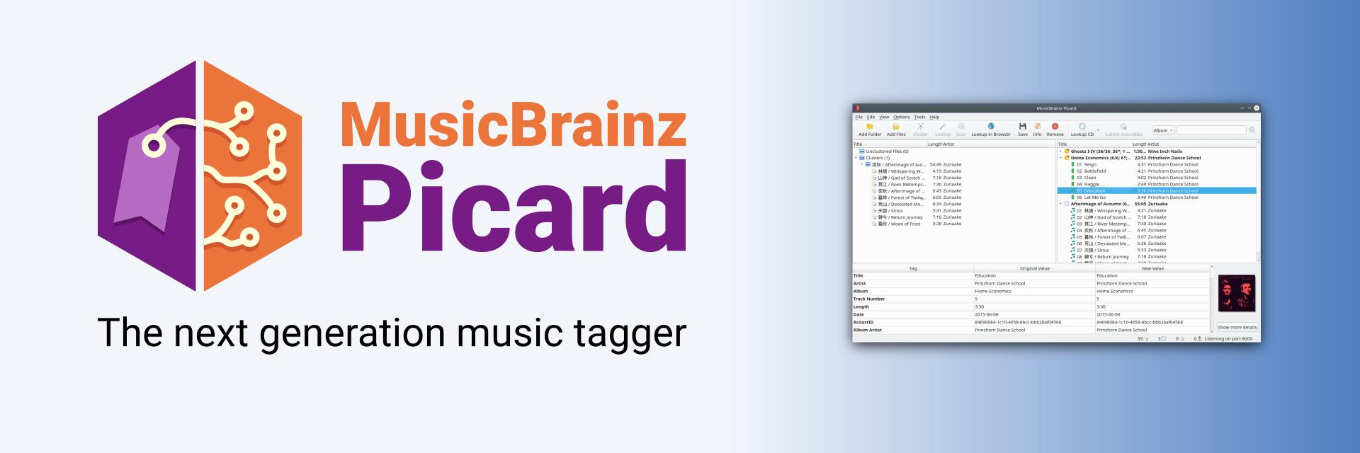 MusicBrainz Picard banner