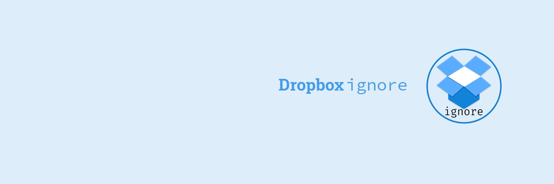 dropboxignore banner