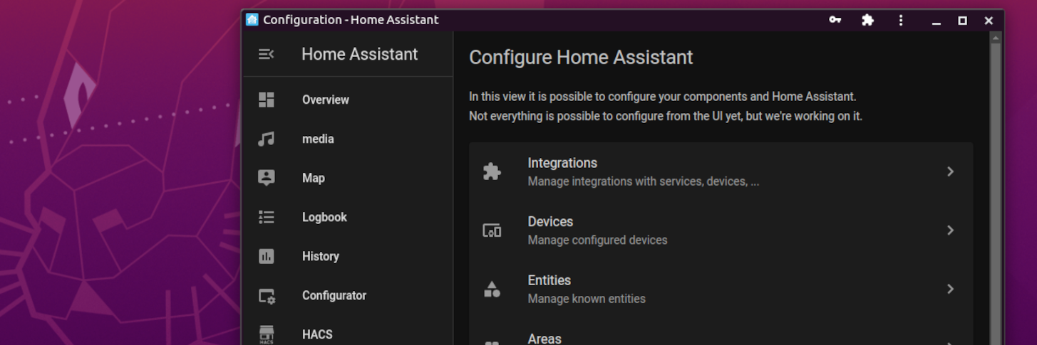 Home Assistant banner