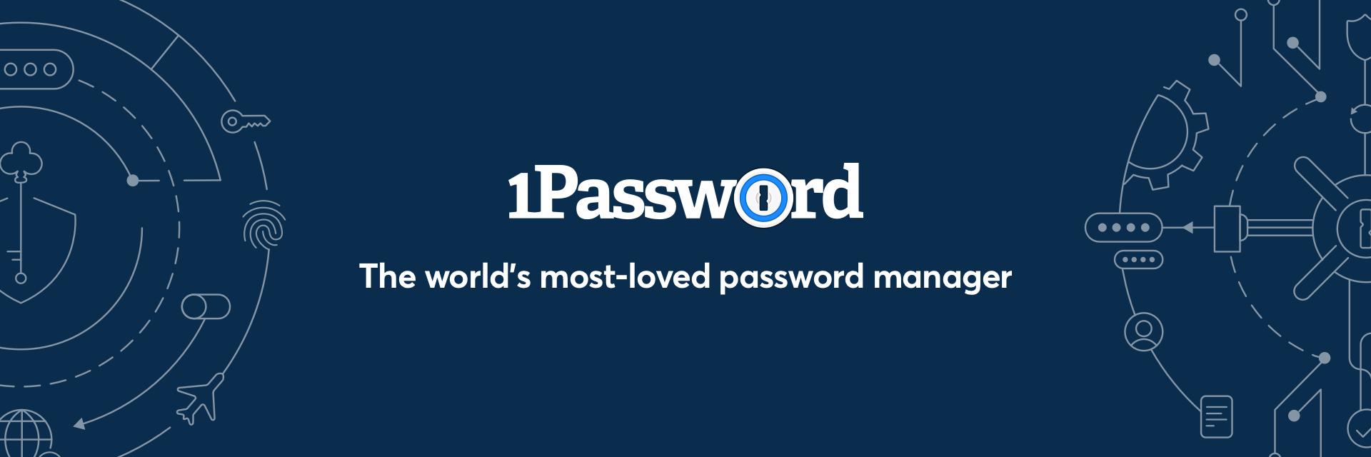 1Password banner