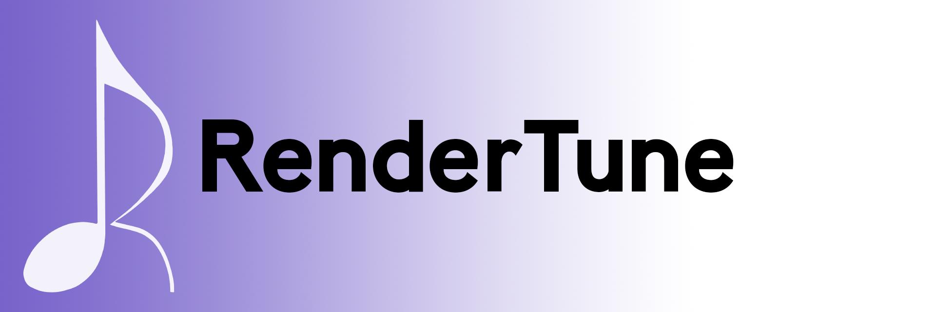 RenderTune banner