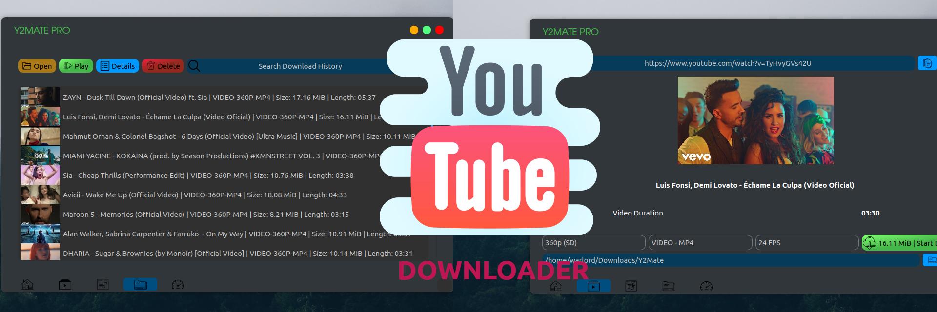 Y2MATE Pro - Download 8k/4k/2k videos banner