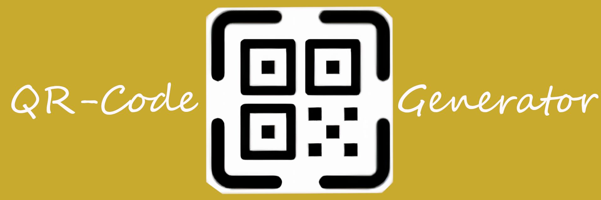QR-Code Generator banner