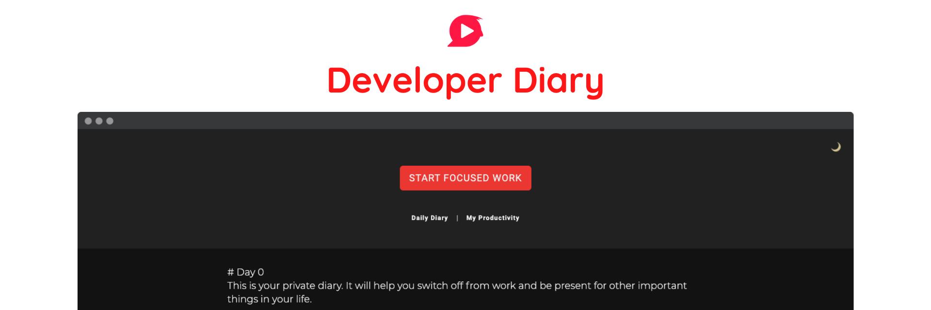 Developer Diary banner