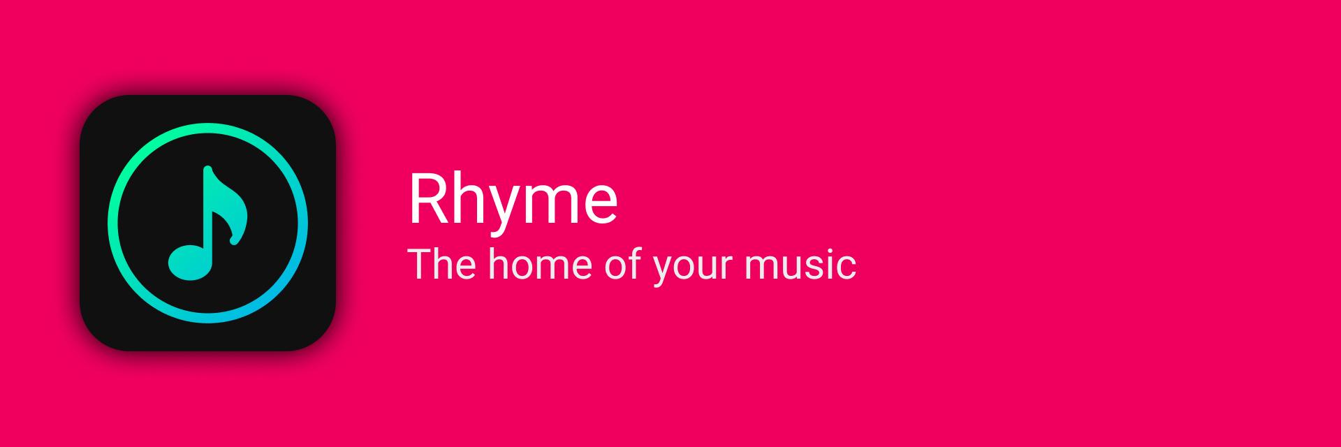 Rhyme banner