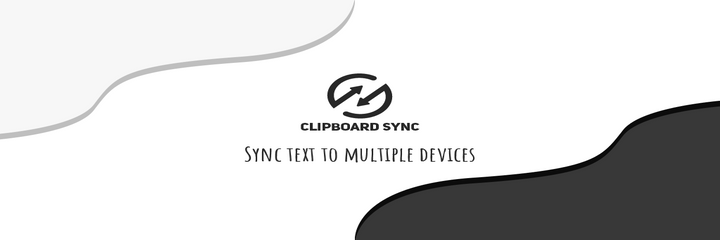 Clipboard Synced banner