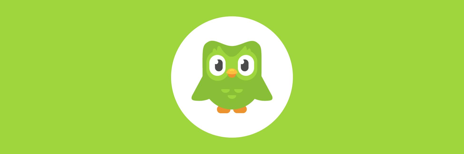 Duolingo banner