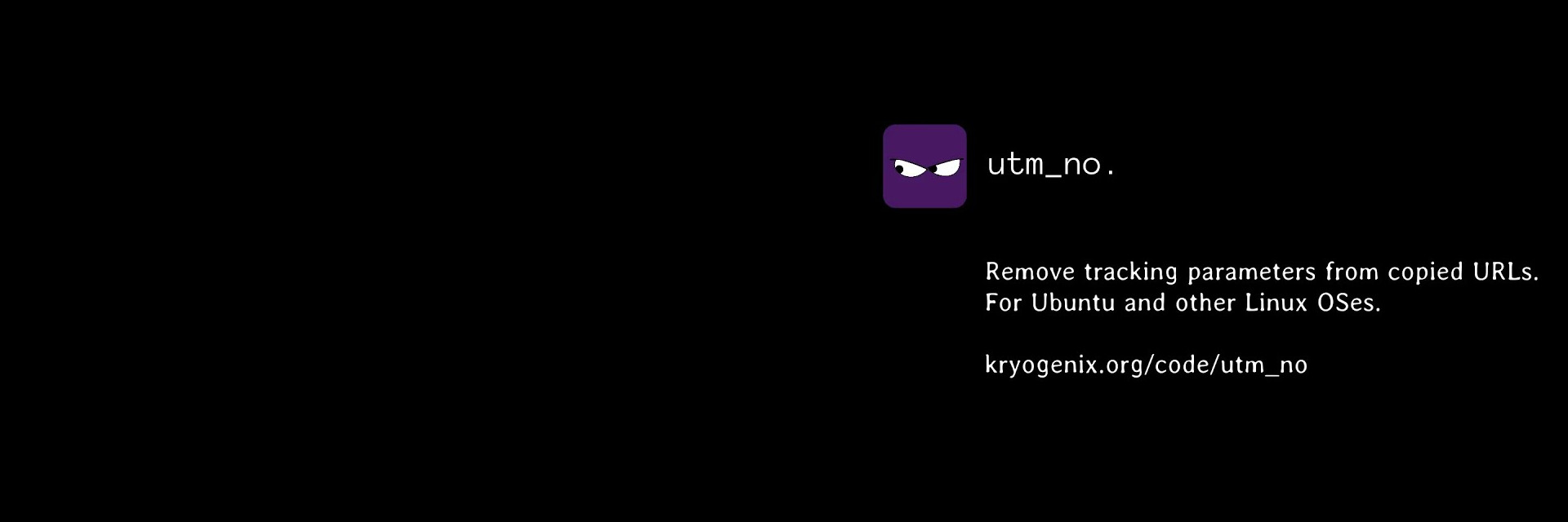 utm-no banner