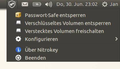 Nitrokey App screenshot