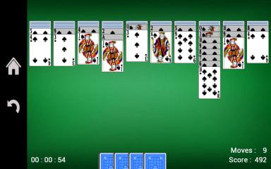 spider-solitaire screenshot