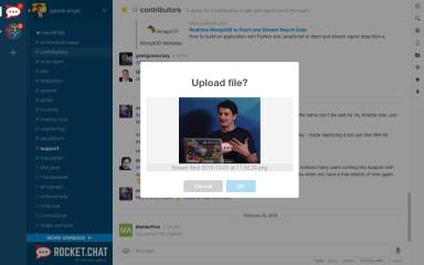 Rocket.Chat Server screenshot