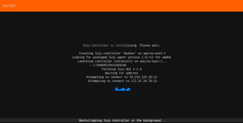 conjure-up screenshot