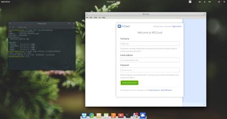 IRCCloud screenshot