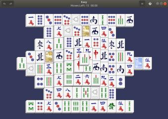 GNOME Mahjongg screenshot