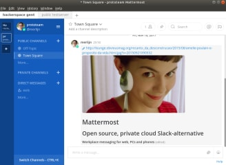 Mattermost Desktop screenshot
