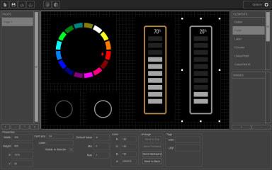Kiosc Editor screenshot