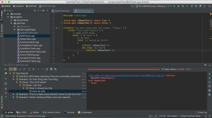 CLion screenshot