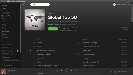 Spotify screenshot