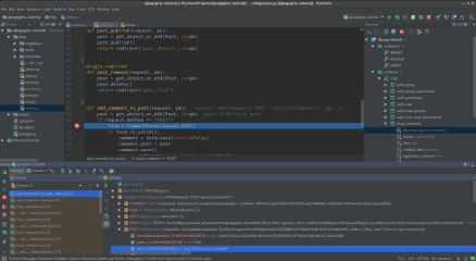 PyCharm Pro screenshot