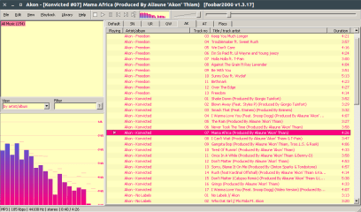 foobar2000 (WINE) screenshot