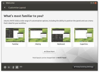 Ubuntu MATE Welcome screenshot