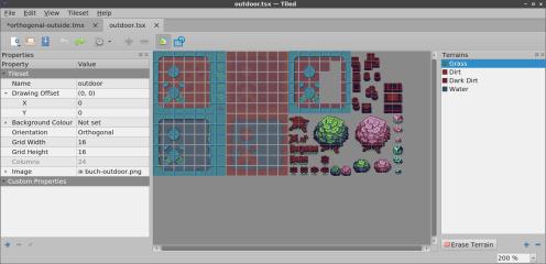 Tiled screenshot