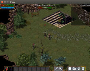 Flare screenshot