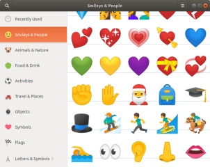 GNOME Characters screenshot