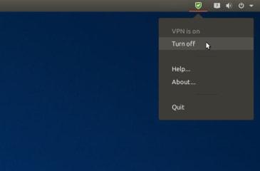 riseup-vpn screenshot