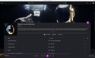 Google Play Music Desktop Player screenshot
