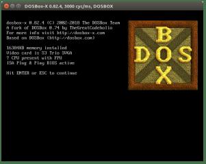 DOSBox-X screenshot