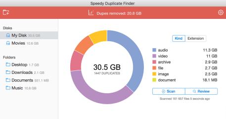 Speedy Duplicate Finder screenshot
