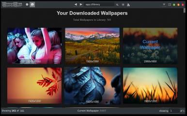 Wonderwall - Wallpaper Manager screenshot