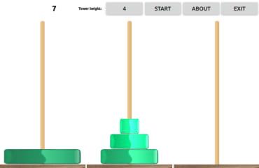 Hanoi Towers screenshot