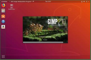 GNU Image Manipulation Program screenshot