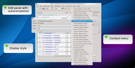 qxmledit screenshot