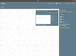 MicroPad screenshot