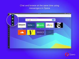 Opera developer screenshot