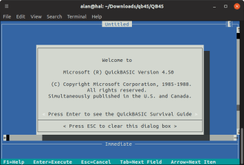 emu2 screenshot