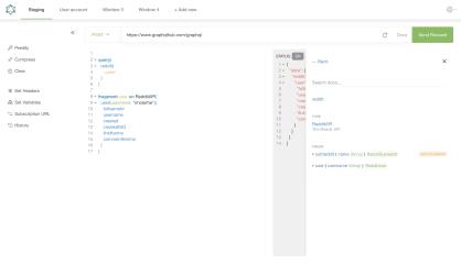 Altair GraphQL Client screenshot