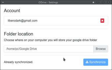 Open Drive (Google Drive Client) screenshot