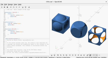 openscad-nightly screenshot