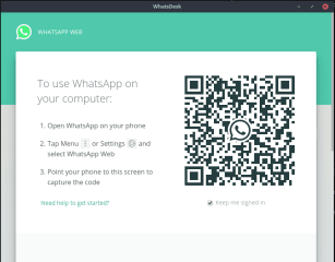 whatsdesk screenshot