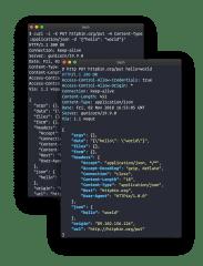 HTTPie screenshot