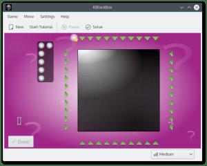 kblackbox screenshot