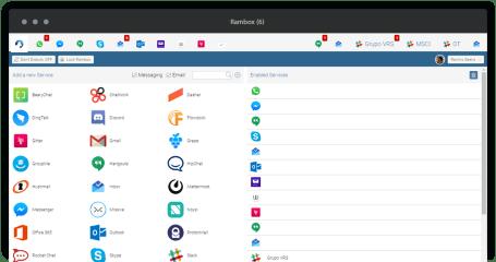 Rambox CE screenshot
