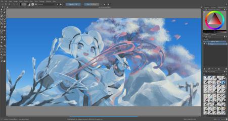 Krita screenshot